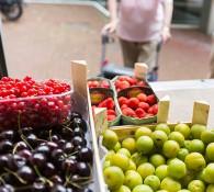 verkoop van groente en fruit aan huis