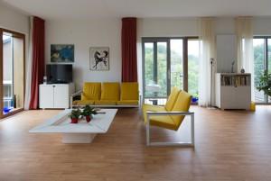 Interieur woonstudio woonzorgcentrum Insula Dei