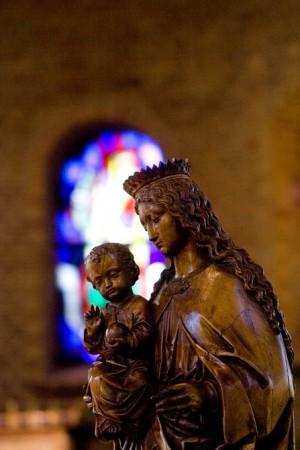 Kapel Insula Dei: Mariabeeld